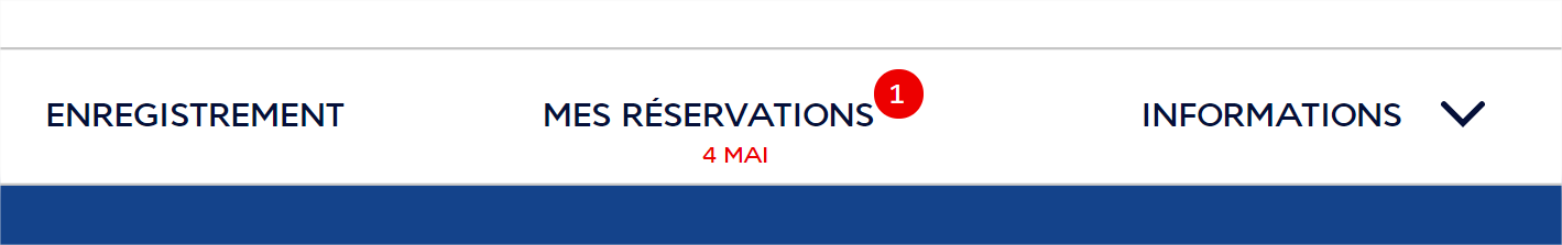 réservation air france