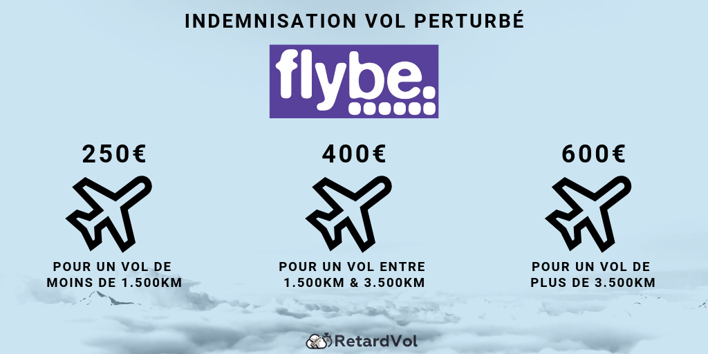 indemnisation Flybe montant